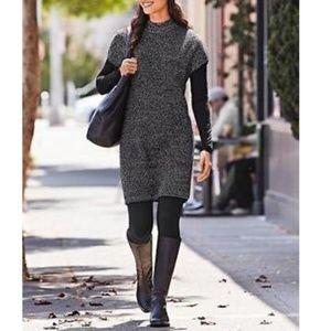 ATHLETA Pinewood marbled Sweater Dress